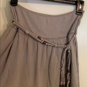 Adorable skirt with belt accent